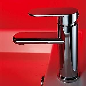 GD Chrom-Finish aus massivem Messing Waschbecken Wasserhahn