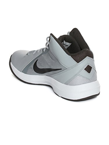 5731577de43 Buy Nike Men White   Grey The Air Overplay IX Basketball Shoes on Amazon