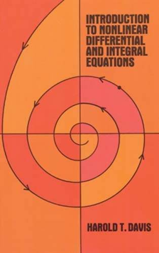Introduction to Non-linear Differential and Integral Equations (Dover Books on Mathematics)