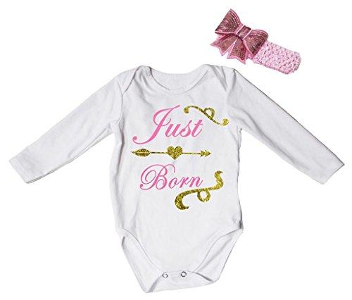 Petitebelle Baby Mädchen (0-24 Monate) Body rosa rose Gr. 12-18 Monate, rose (24 Monate Girl Valentine Outfit)