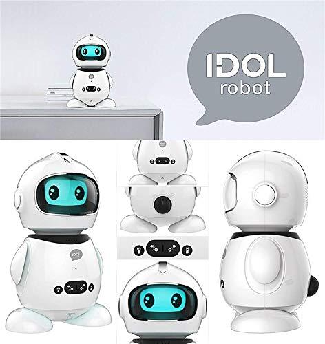 Idol Robot studiato per l\'apprendimento dei bambini Insegna le basi di matematica,della lingua italiana,a fare ragionamenti e ad interagire