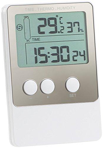Preisvergleich Produktbild FreeTec Temperaturlogger: USB-Temperatur- & Luftfeuchtigkeits-Datenlogger V2 mit PC-Software (Thermometer mit Aufzeichnung)