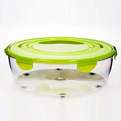Genius - Salat Chef Schüssel Set flach grün 4-tlg. 26115 (Salat Schüssel Salat)