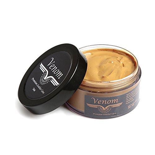 Venom High gloss Leather Shoe Cream(Tan)