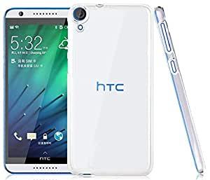 Heartly Crystal Clear Hot Transparent Thin Hard Best Back Case Cover For HTC Desire 820 / 820s / 820Q Dual Sim