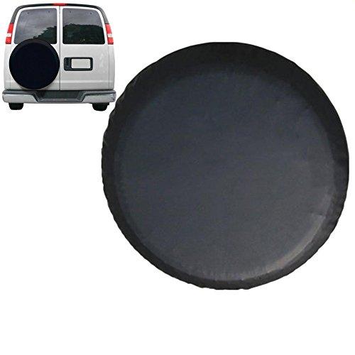 Glodenbridge Ersatzrad PVC Wasserdichten staubdichten Universal Ersatzrad Tire Cover Passform für 71–75cm Reifen von Jeep, Trailer, Wohnmobil-, SUV, Etc.