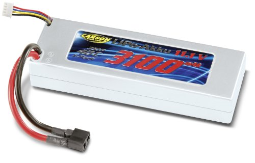Carson 500608102 - Batterie Racing Pack, 11,1 V/3100 mAh Lipo 40 C