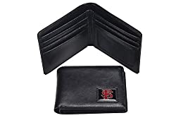 NCAA Florida State Seminoles Men's Leather RFiD Safe Travel Wallet, 4.25 x 3.25