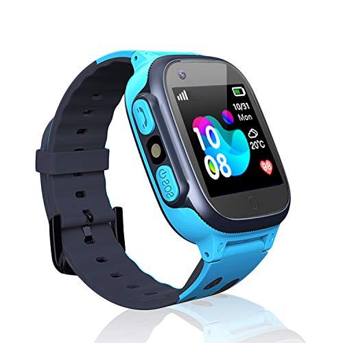 Jslai Niños Smartwatch Relojes, Inteligente LBS Tracker de Alarma SOS Infantil Relojes...