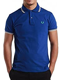 Fred Perry Polo Homme 30162009 BLEU SLIM FIT