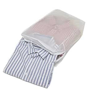 caraselle sac de rangement chemises peva fermeture clair peut contenir 5 chemises. Black Bedroom Furniture Sets. Home Design Ideas