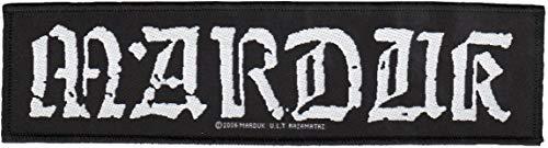 Marduk - Logo Aufnäher/Patch   Black Metal