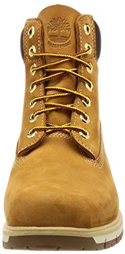 Timberland Redford 6 Boot WP Red BR - Herren Boots - Braun Schuhe in Übergrößen Gelb(WHEAT)
