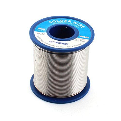 Saldatura 0,8mm diametro 60/4060% Tin 40% piombo Solder Wire Spool Reel