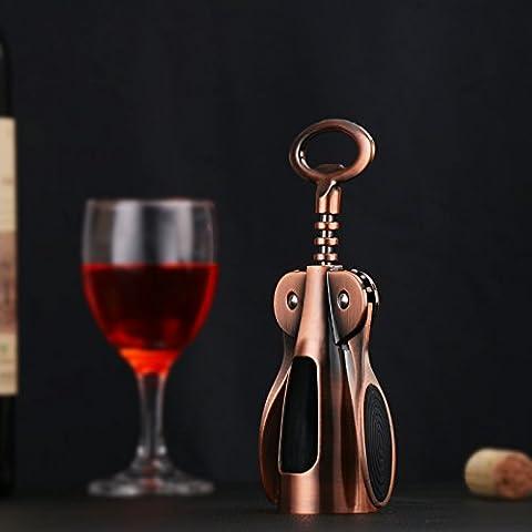 Sproud Haushalt Edelstahl Wein Flaschenöffner Wein, der für kreative bronze Wein Persönlichkeit