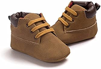 FemmeStopper ROMIRUS Baby Shoes Classic Latest Design lace Infant Toddler Soft Soled Baby Boy Girl Shoes