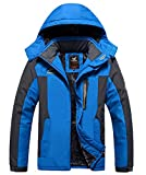 Missoul Men''s Outdoor Waterproof Mountain Jacket Fleece Windproof Ski Jacket...