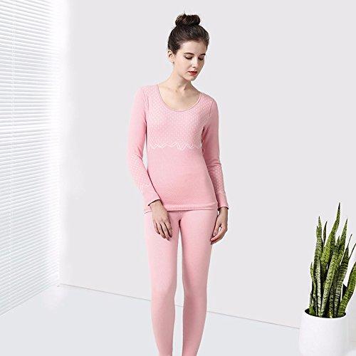 llpxcc biancheria intima termica traspirante da donna abbigliamento coppie maschio Die code (F) Cotone Confezione Regalo PresidentThe coral pink