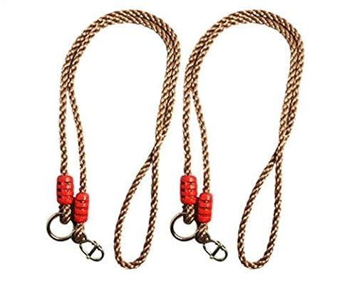 Super UD Baum Swing Conversion Verlängerung Seil vollständig verstellbar ideal für hängen eine Swing von einem Ast 2Stück - Altalena Bouncer