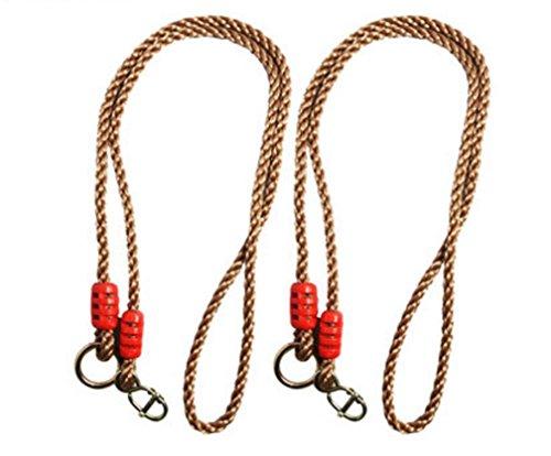 Super UD Tree Swing conversione estensione corda regolabile ideale per appendere un altalena a un ramo, confezione da 2 - Altalena Bouncer