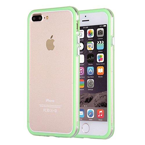 Hülle für iPhone 7 plus , Schutzhülle Für iPhone 7 Plus Ultrathin Superlight Transparente PP Schutzhülle, ,hülle für iPhone 7 plus , case for iphone 7 plus ( Color : Dark Blue ) Green