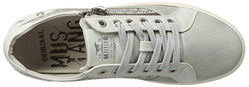 Mustang 1246-301-21, Sneakers Basses Femme Argent (21 Silber)