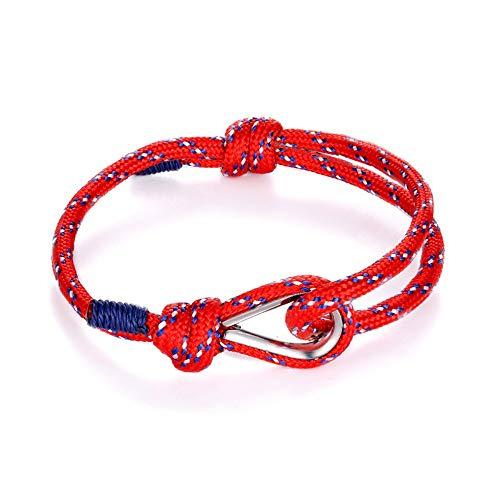 JJDSL Armband, Sport Camping Fallschirm Navy Männer Frauen Nautische Überleben Seil-Kette Armband Im Freien Stil (Im Charm-armband Freien)