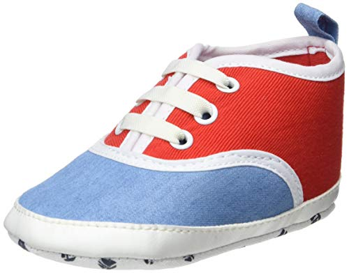 ZIPPY Zapatillas Bicolor Para Recién Nacido Chaussons bébé garçon, Bleu (Light Blue Denim 2564) 18/19 EU