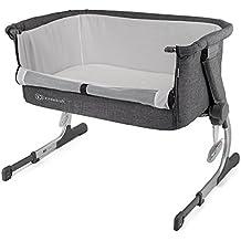 Cuna de colecho con colchón Kinderkraft UNO 2 en 1 para bebés, niños, ...