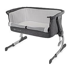 Idea Regalo - Kind Kraft uno 2in1beistell letto con materasso letto baby bambini Baby Lettino da viaggio