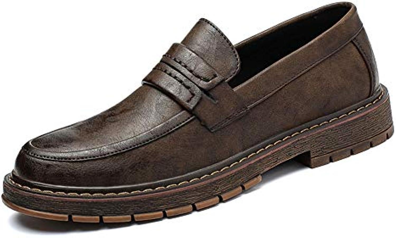 Xiaojuan-scarpe, Casual Classic Oxford da uomo uomo uomo in morbida suola con scarpe formali a pedale unico,Scarpe Uomo Pelle... | Dall'ultimo modello  | Sig/Sig Ra Scarpa  c128b9