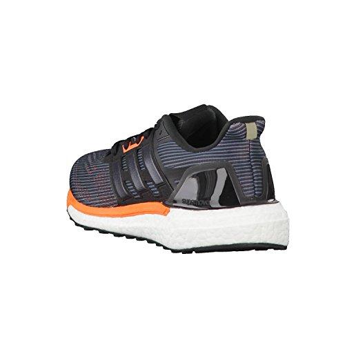 adidas Supernova M, Scarpe Running Uomo Nero (Utility Black/core Black/solar Orange)