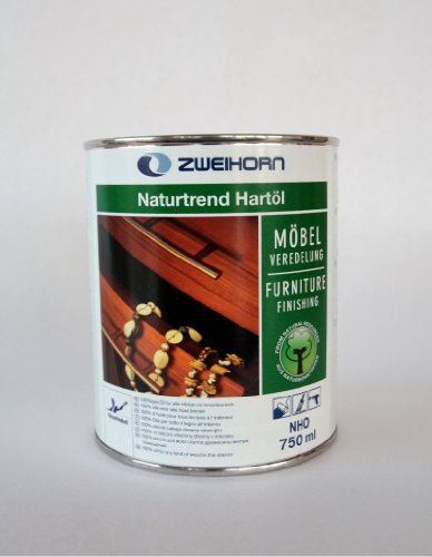 Preisvergleich Produktbild Naturtrend Hartöl Moebeloel 750 ml - Profiqualität zur Möbelveredelung