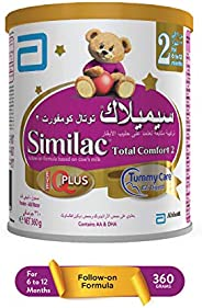 SIMILAC TOTAL COMFORT 2  FOLLOW ON FORMULA MILK FOR 6-12 MONTHS - 360G