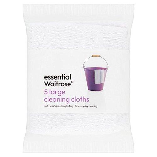 los-panos-de-limpieza-en-grandes-esenciales-waitrose-5-por-paquete