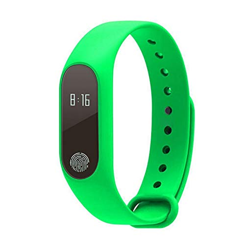 HCBZVN Fitness Trackers, M2 Smart Armband Touchscreen Herzfrequenzmessung Sleep Tracker Smart Armband Sport Smart Armband