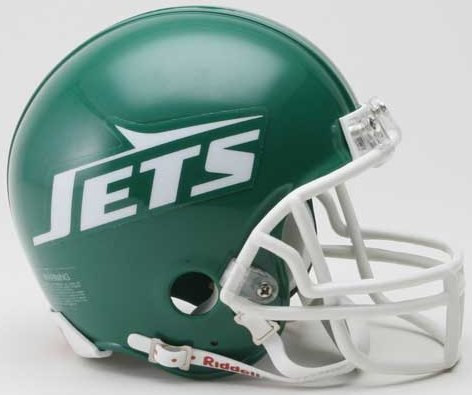 Riddell New York Jets NFL Throwback Mini Helmet (78-89)