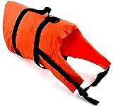 wellenshop Lalizas Hunde-Schwimmweste Gewicht 40+ kg Brustumfang 46-82 cm Polyethylen Nylon Orange Bergegriff Hunde-Rettungsw