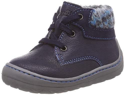 Superfit Baby Jungen Saturnus Sneaker, Blau (Blau/Blau 80), 22 EU