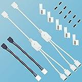 LED Splitter,LED Strip verteiler,LED Streifen Splitter Kabel,LED Strip verbinder,LED rgb verteiler,1...