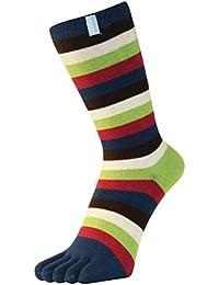 Essentiels midcalf rayures Toe chaussettes de Toe Toe