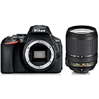 Nikon D5600 Digital Camera 18-140mm VR Kit (Black) with Bag and Card