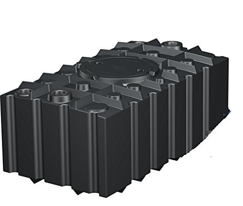 Regenwasser-Flachtank 2000 Liter schwarz