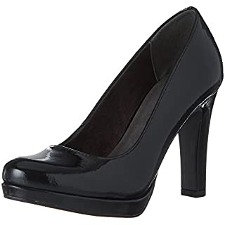 Tamaris Damen 22426 Pumps, Schwarz (Black Patent), 39 EU