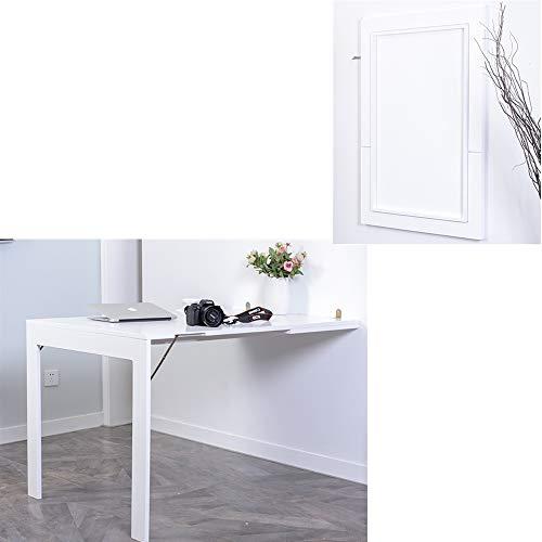 Angela Multifunktionswandbehang Tisch, Kreative ausklappbare Cabrio Schreibtisch, platzsparend, für Computer Writing Dining, geeignet für den Home Office-Einsatz