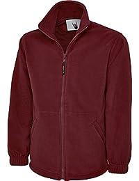 7683965c9f3 Uneek UC604 Mens Adult Classic Full Zip Micro Fleece Coat Jacket Size XS-6XL