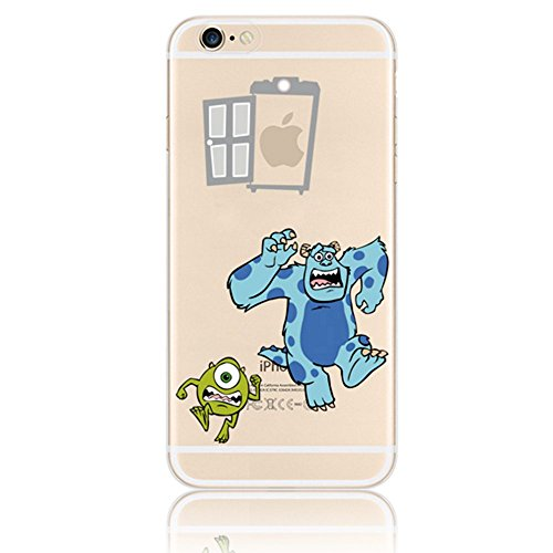 Vandot Ultra-thin Ultra-Light Mince TPU Silicone Gel Doux Etui Coque Housse Case Cover Couvrir Couverture Colour Printting Motif Housse Hull Coquille pour iPhone SE / iPhone 5 5S Effacer Clair transpa Image-7
