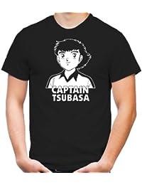 Captain Tsubasa T-Shirt | FC Nankatsu | Kult | Trickfilm | Anime | Kickers | Fun | Männer | Herrn |