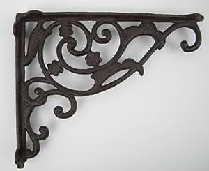 winkel wandhalterung regalhalterung eisen antik rustikal f r regalbretter regalwinkel wand. Black Bedroom Furniture Sets. Home Design Ideas