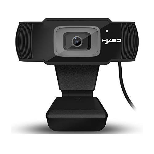 JIANG HD-Autofokus-Kamera mit 5-Megapixel-Unterstützung für 720P 1080-Videoanrufe, integriertem Noise Cancelling-Mikrofon und automatischem Schnellfokus,S60 - Confronta prezzi